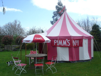 Pimms Tent 1